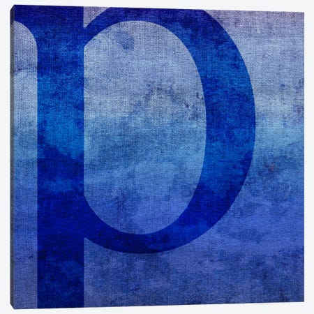 P-Blue To Purple Stain Canvas Print #TOA349} by 5by5collective Canvas Print