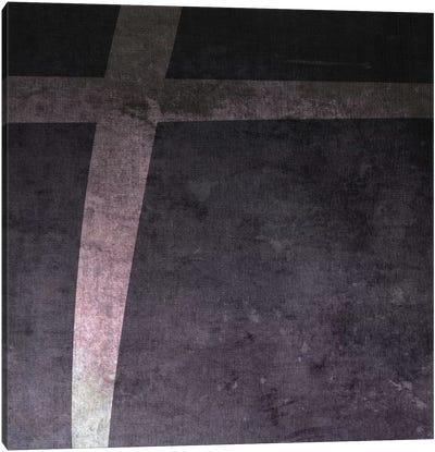 Plus-B&W Neg Canvas Art Print