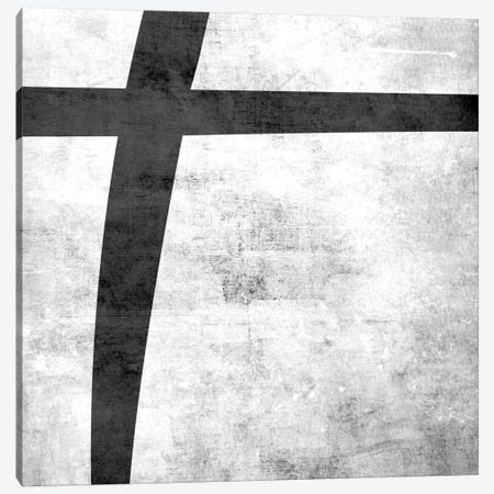 Plus-B&W Scuff Canvas Print #TOA358} by 5by5collective Canvas Artwork