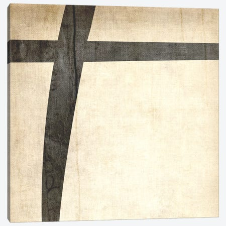 Plus-Bleached Linen Canvas Print #TOA360} by 5by5collective Canvas Print