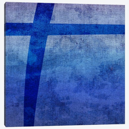 Plus-Blue To Purple Stain Canvas Print #TOA361} by 5by5collective Canvas Print