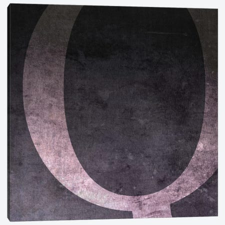Q-B&W Neg Canvas Print #TOA363} by 5by5collective Art Print
