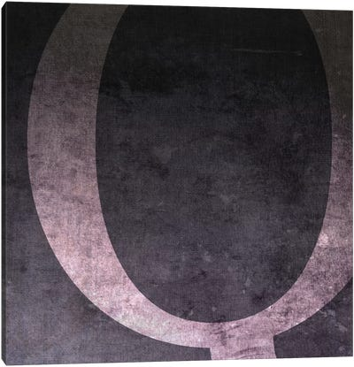 Q-B&W Neg Canvas Art Print