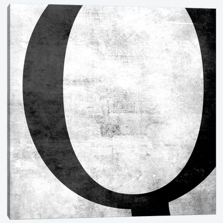 Q-B&W Scuff Canvas Print #TOA364} by 5by5collective Canvas Artwork