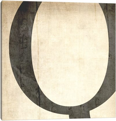 Q-Bleached Linen Canvas Art Print