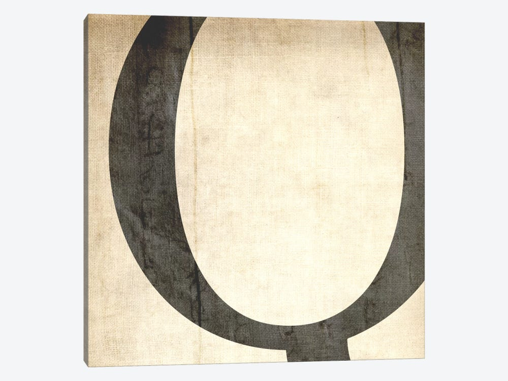 Q-Bleached Linen by 5by5collective 1-piece Canvas Art Print