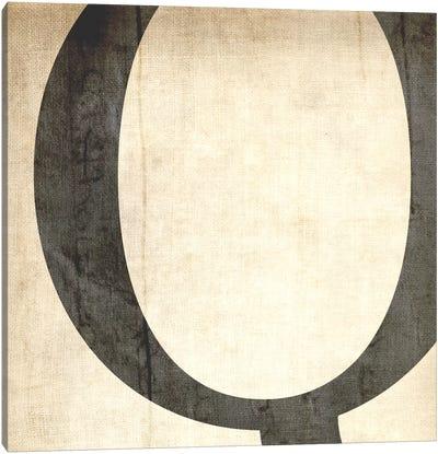 Q-Bleached Linen Canvas Art Print