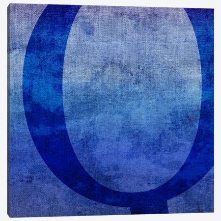 Q-Blue To Purple Stain Canvas Print #TOA367} by 5by5collective Canvas Art