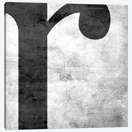 R-B&W Scuff Canvas Print #TOA376} by 5by5collective Art Print