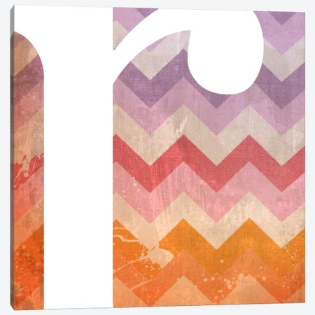 R-Blah Stained Canvas Print #TOA377} by 5by5collective Canvas Art Print