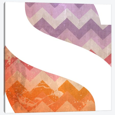 S-Blah Stained Canvas Print #TOA383} by 5by5collective Canvas Art Print