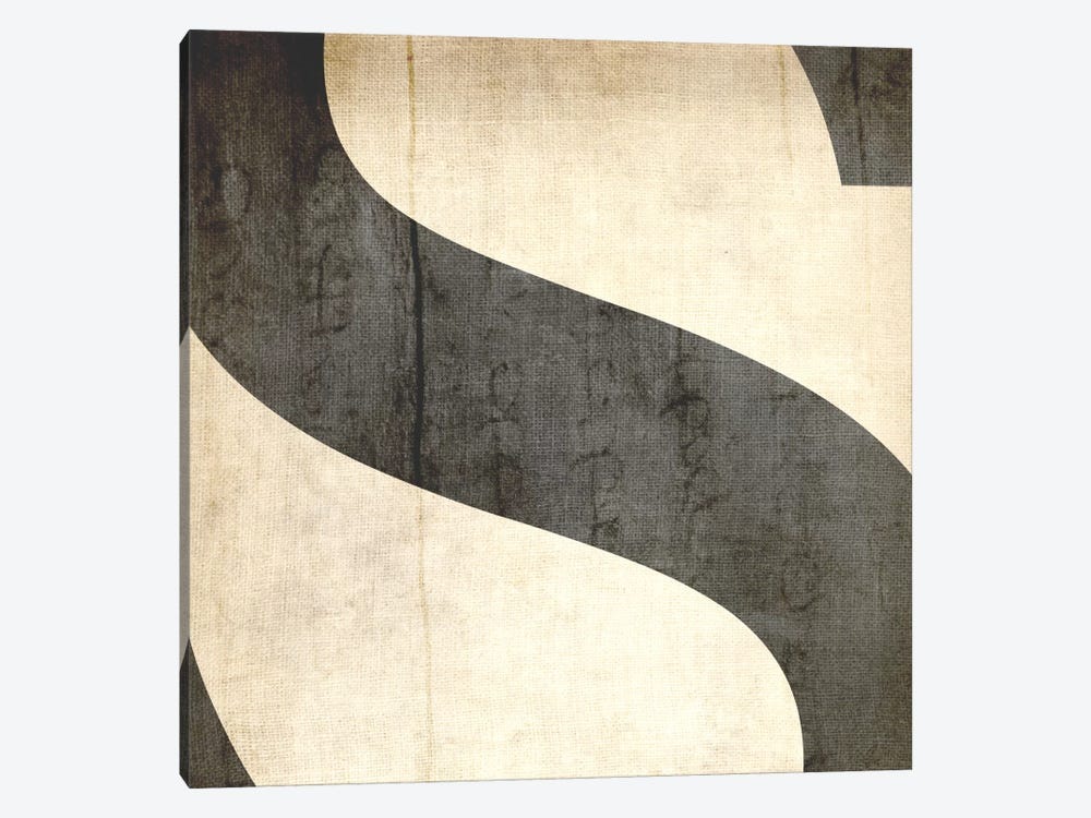 S-Bleached Linen by 5by5collective 1-piece Canvas Print