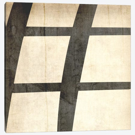 Sharp-Bleached Linen Canvas Print #TOA390} by 5by5collective Canvas Artwork