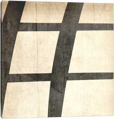 Sharp-Bleached Linen Canvas Art Print