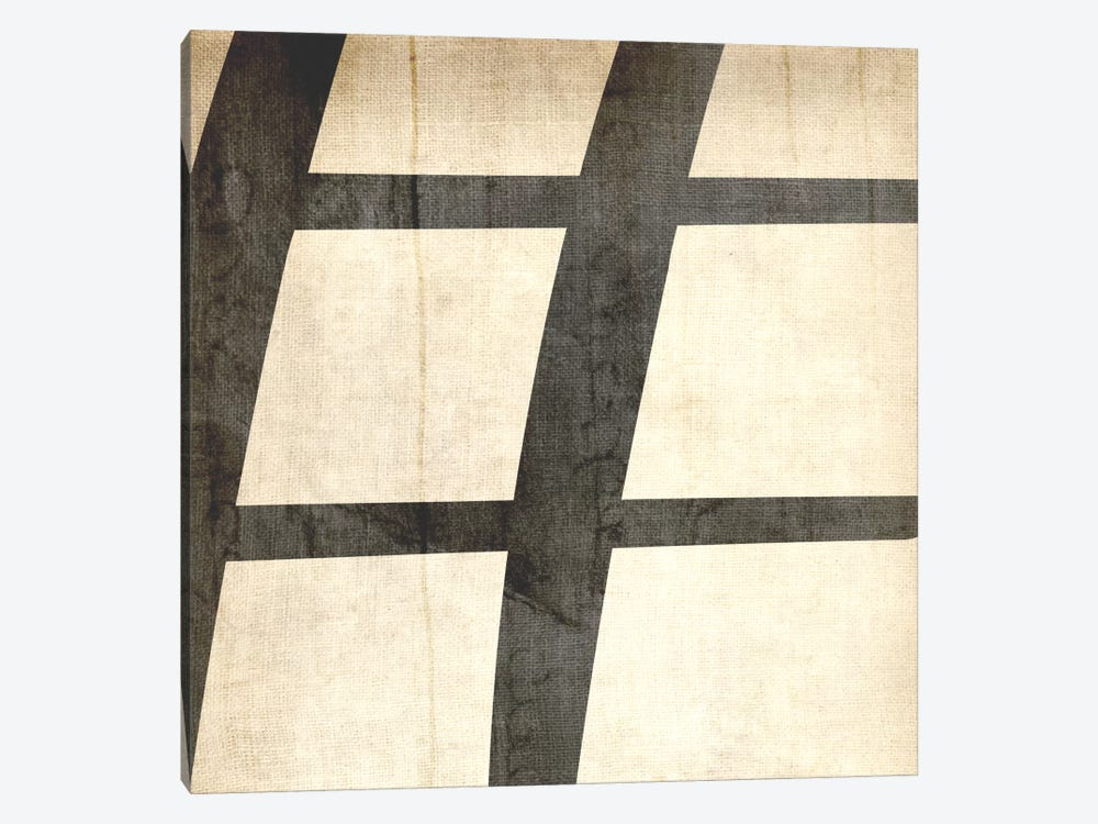 Sharp-Bleached Linen by 5by5collective 1-piece Canvas Wall Art