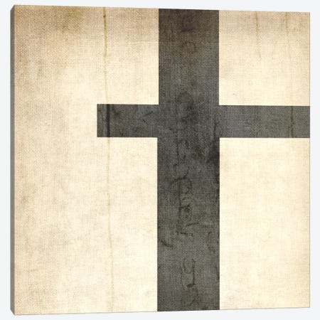 T-Bleached Linen Canvas Print #TOA396} by 5by5collective Art Print