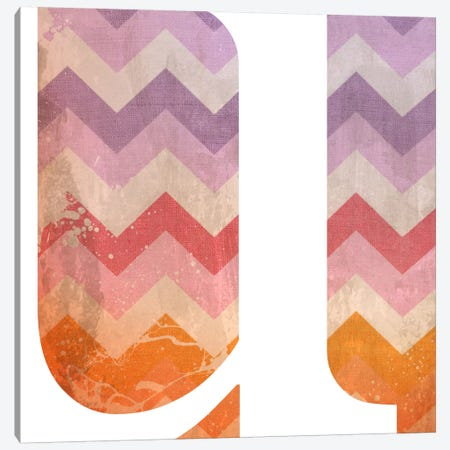 U-Blah Stained Canvas Print #TOA401} by 5by5collective Canvas Wall Art