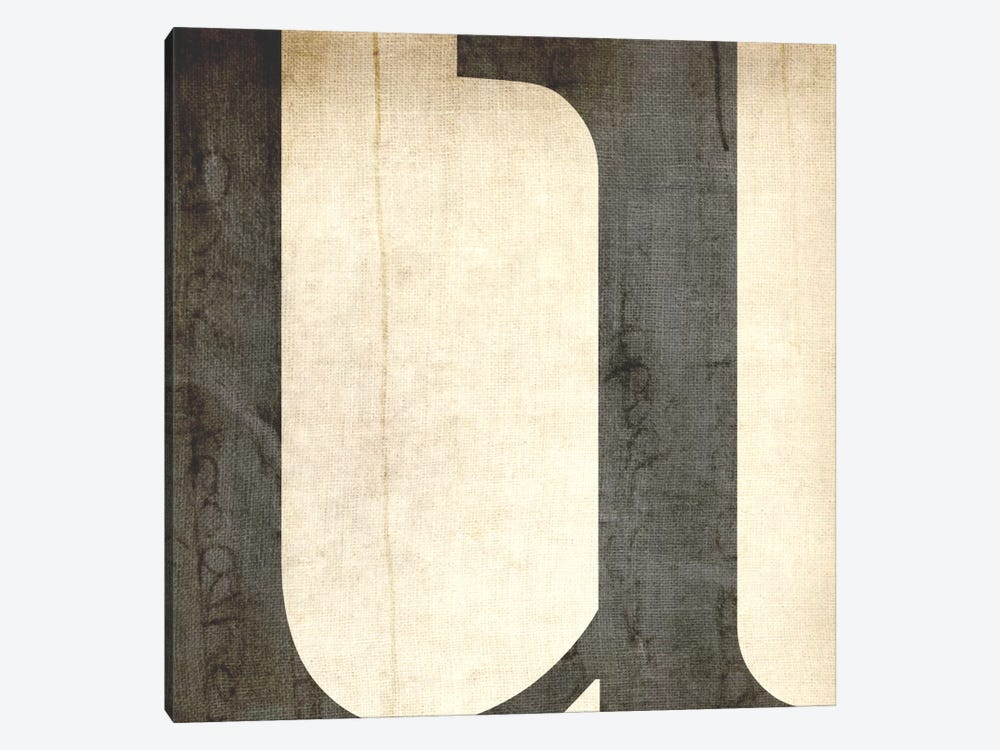 U-Bleached Linen by 5by5collective 1-piece Canvas Art