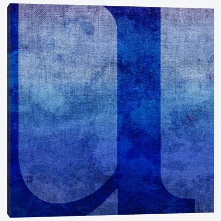 U-Blue To Purple Stain Canvas Print #TOA403} by 5by5collective Canvas Wall Art