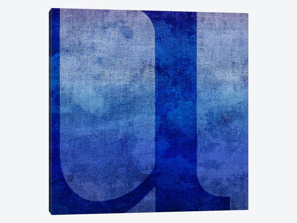 U-Blue To Purple Stain by 5by5collective 1-piece Canvas Print