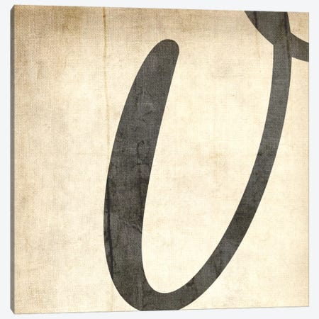 V-Bleached Linen Canvas Print #TOA408} by 5by5collective Canvas Wall Art