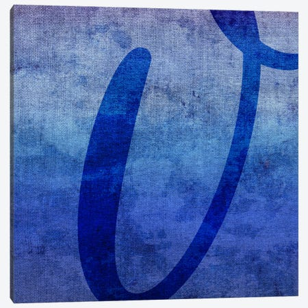 V-Blue To Purple Stain Canvas Print #TOA409} by 5by5collective Canvas Art