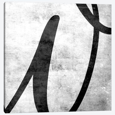 W-B&W Scuff Canvas Print #TOA412} by 5by5collective Art Print