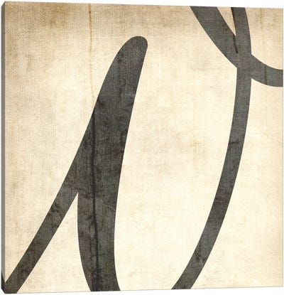 W-Bleached Linen Canvas Art Print