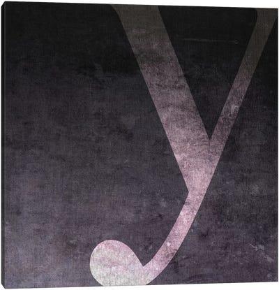 Y-B&W Neg Canvas Art Print