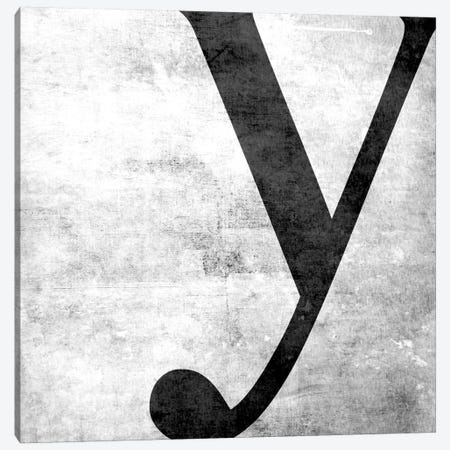 Y-B&W Scuff Canvas Print #TOA424} by 5by5collective Canvas Art Print