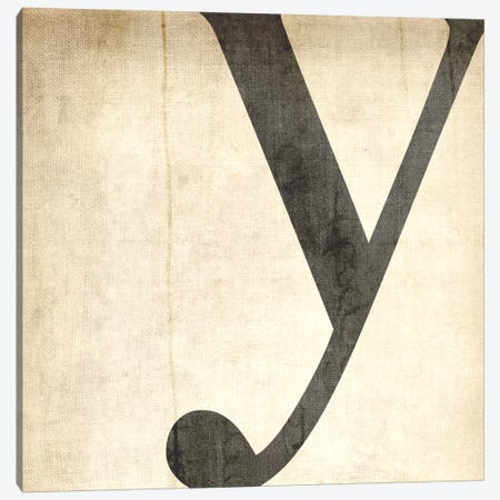 Y-Bleached Linen Canvas Print #TOA426} by 5by5collective Canvas Print