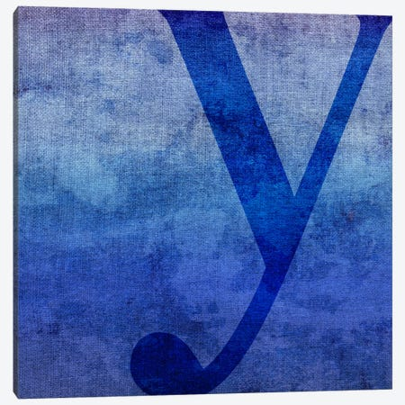 Y-Blue To Purple Stain Canvas Print #TOA427} by 5by5collective Canvas Print