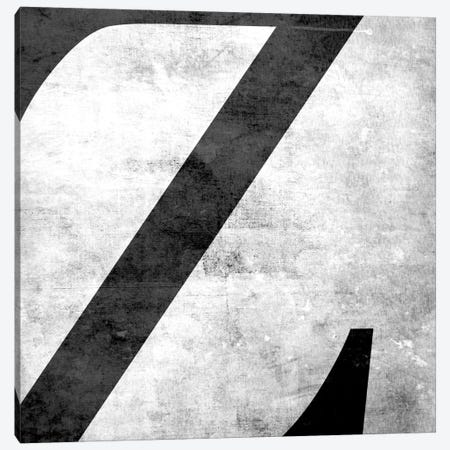 Z-B&W Scuff Canvas Print #TOA430} by 5by5collective Canvas Art Print