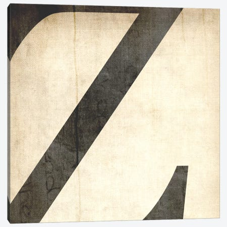Z-Bleached Linen Canvas Print #TOA432} by 5by5collective Art Print