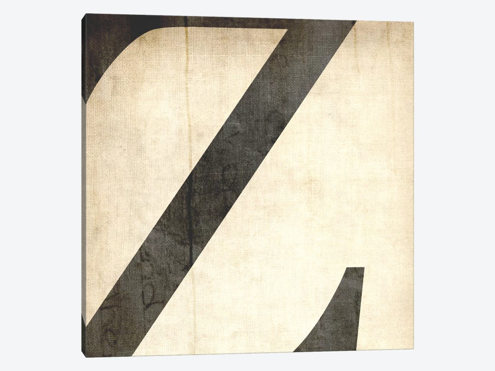 Z-Bleached Linen by 5by5collective 1-piece Canvas Art Print