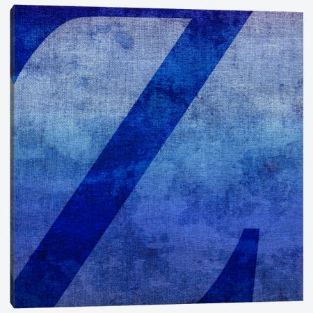 Z-Blue To Purple Stain Canvas Print #TOA433} by 5by5collective Canvas Art Print