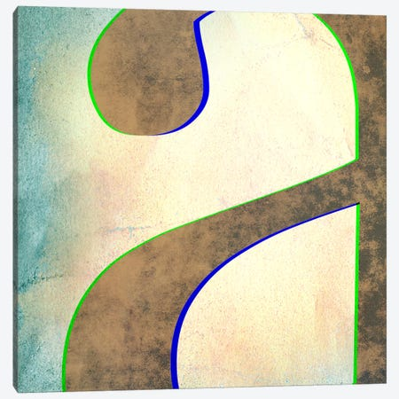 "Insta Lower Case ""A"" Canvas Print #TOA437} by 5by5collective Canvas Art"