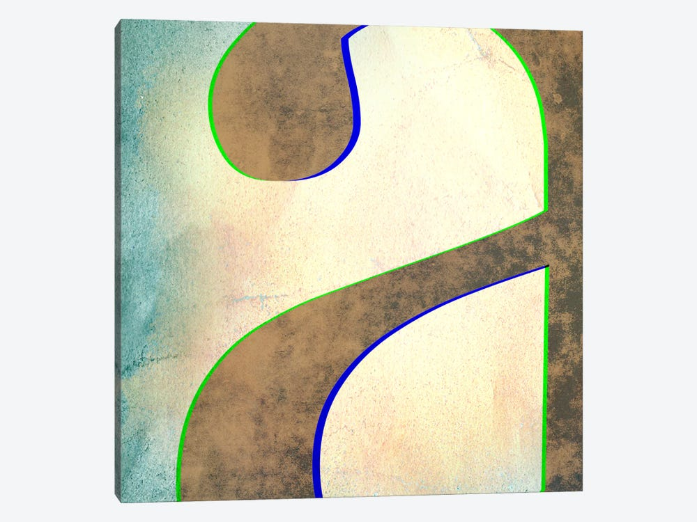 "Insta Lower Case ""A"" by 5by5collective 1-piece Canvas Wall Art"