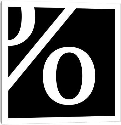 percent1 Canvas Print #TOA53