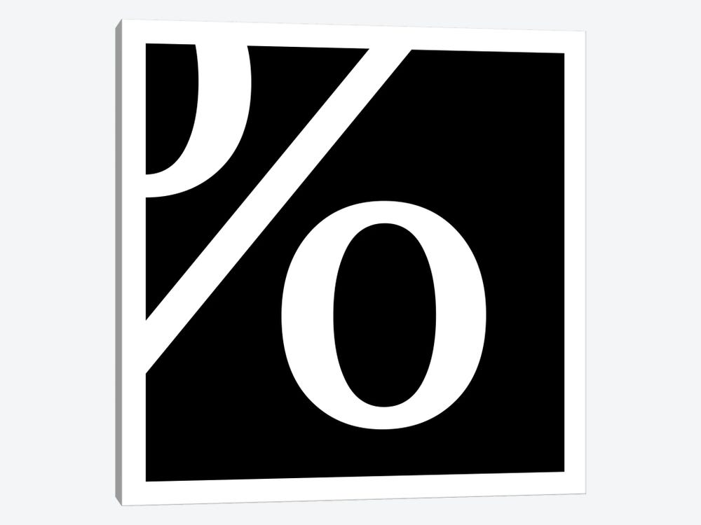 percent1 by 5by5collective 1-piece Canvas Wall Art