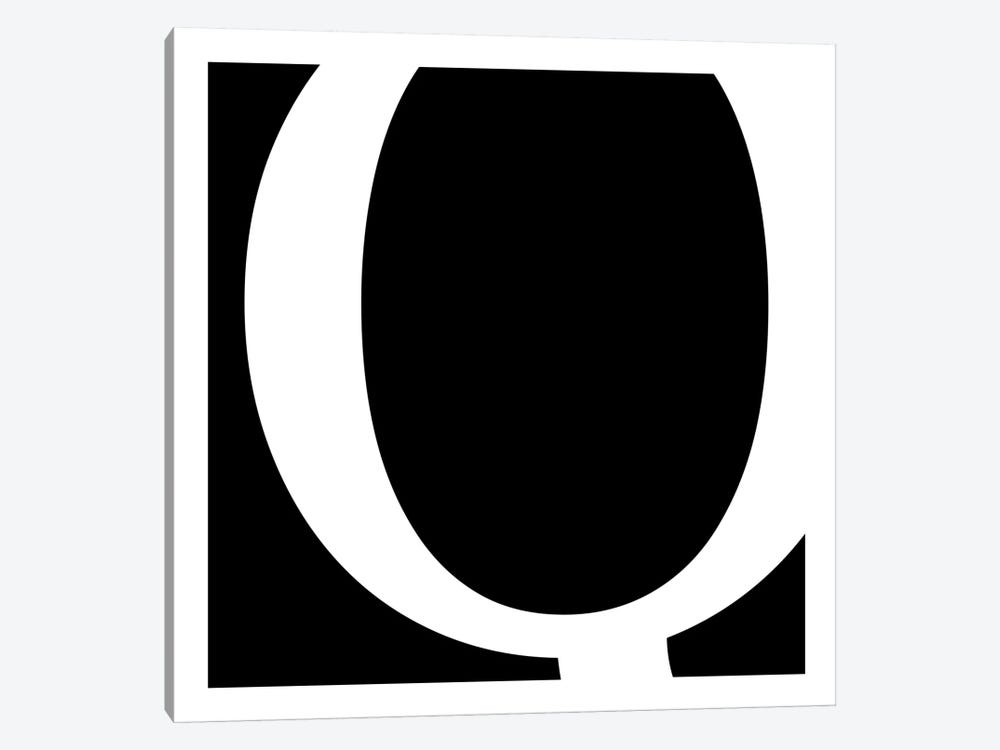 Q by 5by5collective 1-piece Canvas Art