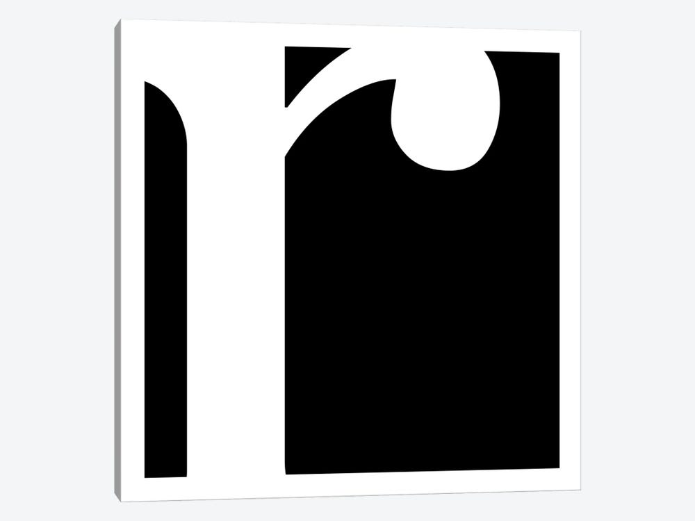R by 5by5collective 1-piece Canvas Print