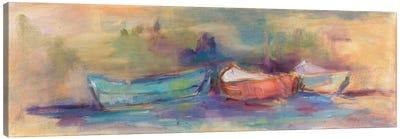 Rowboat Row Canvas Art Print