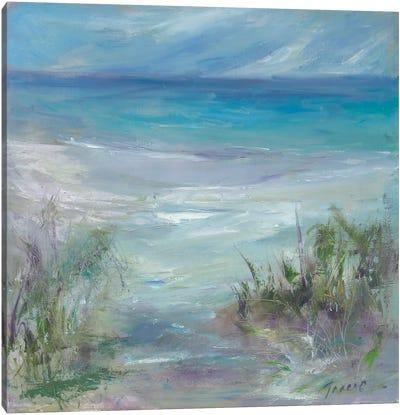 Blue Horizons Canvas Art Print