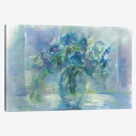 Susie's Blue Canvas Print #TOC17} by Tracy Owen-Cullimore Canvas Wall Art
