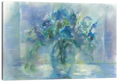 Susie's Blue Canvas Art Print