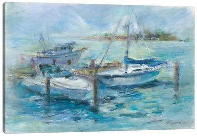 Dockside Canvas Art Print