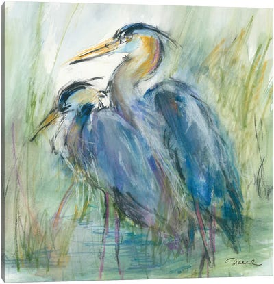 Heron's Glen Canvas Art Print