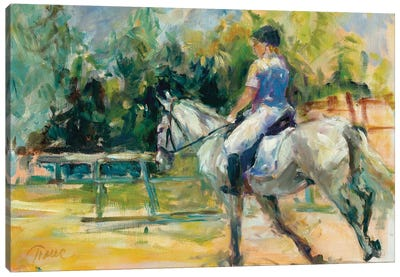 Riding High Canvas Art Print