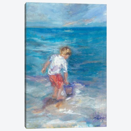 Sea Fun Canvas Print #TOC4} by Tracy Owen-Cullimore Canvas Artwork